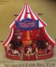 New Mr. Christmas -Big Top World's Fair 30 Tune Multi-Action/Lites Music Box
