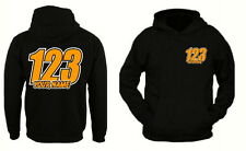 Custom Personalised race hoodies Name & Number Motorbike motocross xmas gift