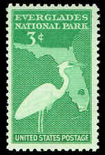 Scott # 952 - 1947 - ' Great White Heron & Florida '