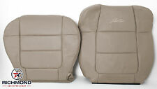2001 2002 Ford F150 Lariat SuperCrew -Driver Complete Leather Seat Covers Tan