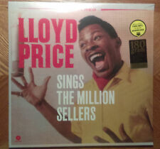 NEW*FACTORY SEALED* WAXTIME LP RECORD/LLOYD PRICE/SINGS MILLION SELLERS/180 GRAM