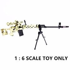 AS733a AIRSOFT TOY Figure 1:6 Scale Metal Model Dragunov SVD ACU Sniper Rifle