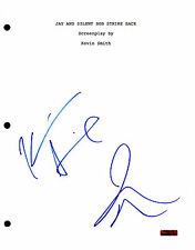 Jay and Silent Bob * KEVIN SMITH & JASON MEWES * Signed Full Movie Script J2 COA