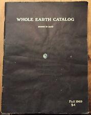 THE WHOLE EARTH CATALOG 1969