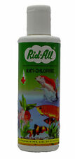 Hi quality water aquarium fish Rid all Anti Chlorine 200 ML medicine ridall