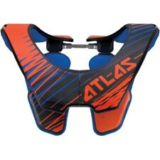 NEW 2016 Atlas Air Neck Brace LARGE ORANGE moto motocross dirt bike $330 Retail