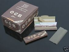 1 BOX OCB 108*45mm SLIM Organic Rolling PAPER+Filter Tips #33