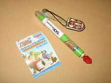 The Legends of zelda touch pen with cleaning pad DS Nintendo 2007 (red Jewel)