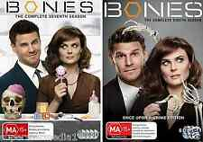 BONES SEASON 7 & 8 : NEW  DVD
