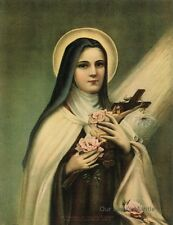 Catholic Art Print Picture ST.THERESE OF LISIEUX, The Little Flower of Jesus