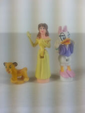 Disney Polly Pocket Magic Kingdom Figures Daisy Duck Belle Tiny Collection Simba