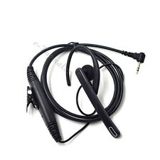Surveillance Ear Bar Earpiece Headset Mic for Motorola MB140R MJ270R MT352 R