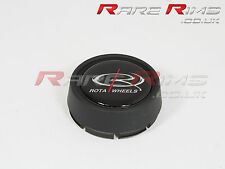 Rota alloys Centre Cap Matt Black Medium Top (caps)