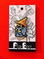 Final Fantasy 1 NES Black Mage Enamel Pin.  8-Bit  PinBotShop