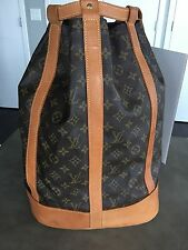 Authentic Pre-Owned Louis Vuitton LV Monogram Randonnee GM Backpack Bag M42244