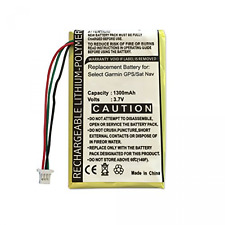 Replacement Garmin Rechargeable Battery for Nuvi 1400, 1440, 1450, 1490, 1490T,
