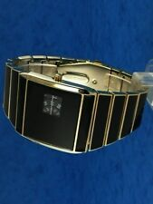 Anni'60'70 insolito futuristica SPACE AGE RARE OLD STYLE MODERNO DISC DISK WATCH 91