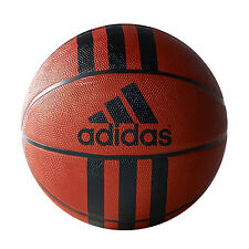 adidas 3 Stripe D 29.5 Rubber Outdoor Basketball Ball Tan, 7