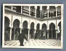 France, Exposition Coloniale Internationale de 1931. Le Patio Algérien  Vintage