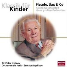 PETER/BYCHKOV,SEMYON/OP USTINOV - PICCOLO,SAX & CO  CD NEW+