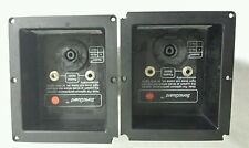 Pair of Vintage JBL MR935 Speaker Crossover Terminal Input Boxes - FREE SHIP