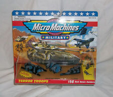 NEW Micro Machines Lot Terror Troops, Micro Machines Military Red Dawn Raiders