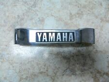 82 yamaha XS 650 Heritage Special XS650 S front fork shock cover emblem