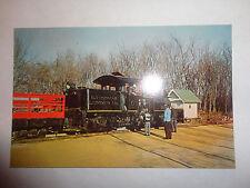 Pine Creek Narrow Gauge Steam Train RailRoad Postcard Rail Road