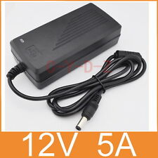 AC/DC LED Power supply Adapter Charger 12V 5A 60W for 5050/3528 LED Light CCTV