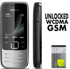 Nokia Classic 2730 - Black (Unlocked) Cellular Phone Cheap Bar Mobile 3G 2G GSM