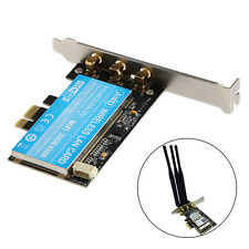 PCI-E Dual Band Intel 6300 Wifi 300/450M PCI-Express Adapter Card with Antenna