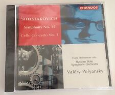 NEW Shostakovich Symphony No. 15 Cello Concerto No. 1