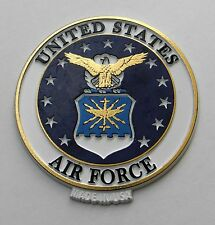 USAF US AIR FORCE MAGNETIC FRIDGE MAGNET APPROX 2.75 INCHES