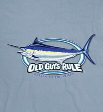 "OLD GUYS RULE SWORDFISH "" REELIN IN THE YEARS "" BOAT OCEAN FISHING  S/S XL"