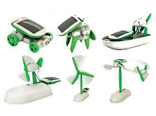 6 in 1 Educational Solar Toys Kit Robot Assembling Science Toy Gift for Children