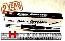 2 NEW FRONT GAS SHOCK ABSORBERS HONDA ACCORD COMBI 2003-2008 ///GH-332683///