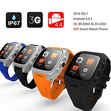 X01 3G Wifi Android Smart Watch Phone GPS Bluetooth 4GB Google Play Store APP US