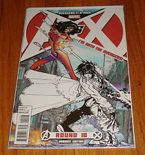 Avengers vs X-Men #10 I'm With Avengers Team Variant Edition 1st Print