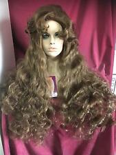 SIN CITY WIGS SALE! EXTRA LONG FANTASY PRINCESS CURLY WAVY BROWN BEAUTY THICK