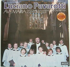 "Luciano PAVAROTTI Ave Maria National Philharmonic Kurt Hebert Adler 12"" LP d270"