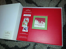 HALLMARK Photo Album CHRISTMAS INSTANT SCRAPBOOK 20 Decorated Pages 40 Stickers