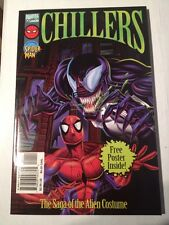 chillers -spiderman the saga of the alien costume book 1996