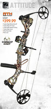 New Bear Archery Attitude RTH 70# RH Bow Package w/ Release & 1/2 Dz Arrows
