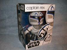 Captain Rex Blasters Clone Trooper Mighty Muggs Hasbro 2008 MISB New