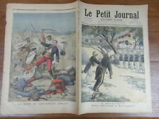 LE PETIT JOURNAL 1896 EXECUTION MADAGASCAR TANANARIVE MORT LIEUTENANT COLLOT (2)