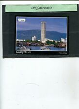 P410 # MALAYSIA USED PICTURE POST CARD * THE CITY OF GEORGETOWN, PENANG
