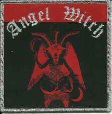 ANGEL WITCH-BAPHOMET LOGO-WOVEN PATCH-NWOBHM