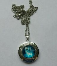 Friendship necklace locket patronus charm Magical/symbol. Dumbledore/Hermione