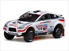 MITSUBISHI LANCER #318 2010 DAKAR RALLY 1/43 MODEL CAR BY VITESSE 43436