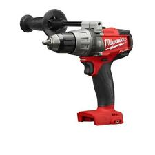 New Milwaukee M18 FUEL 18-Volt Brushless 1/2 in. Hammer Drill Driver 2704-20
